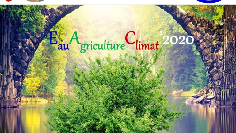 Colloque-Formation International Eau–Agriculture–Climat'2021 (EAC-2020) : 04 au 09 Octobre 2021